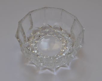 Vintage Glass small plate from USSR 1970s