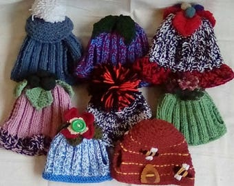 Hand Knitted Tea Cosies