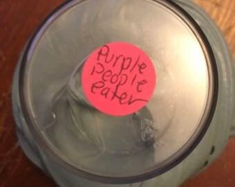 Purple people eater ,slime,