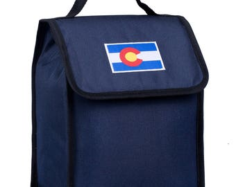 State of Mind Colorado Flag Lunch Bag