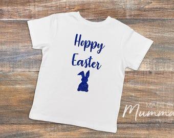 Easter, Hoppy Easter, Custom Children's T-Shirt, Personalised Infant T-Shirt, Custom Baby Onesie, Personalised Bodysuit