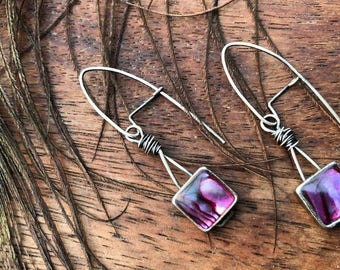 Sterling-filled Silver Opalescent earrings