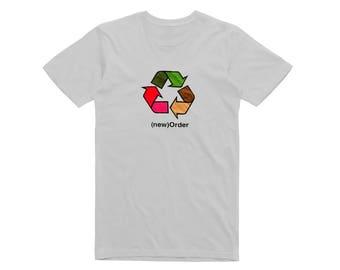 New Order band t shirt