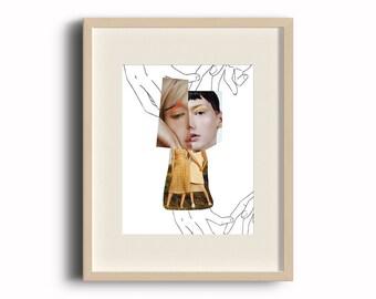 Digital Art Print - Sisters **BESPOKE PRINTS AVAILABLE**