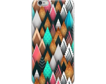Pastel Mountains iPhone Case