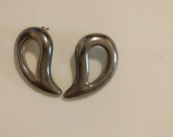 Nice midcentury earrings