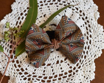 Autumn series fabric bow