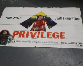 PRVILEGE UK poster quad
