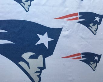 New England Patriots fitted sheet