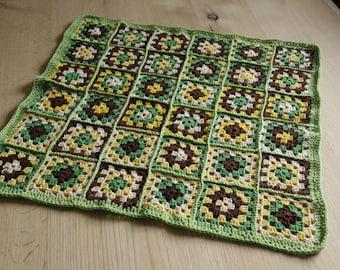 Crocheted baby blanket 100% cotton