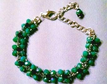 Elegant Teal Bracelet