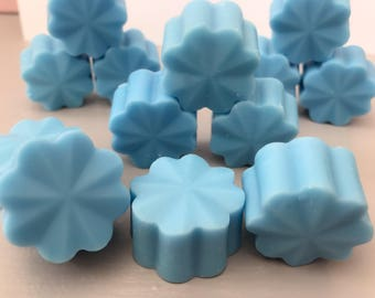 Baby Powder Soy Wax Melts. Available in packs of 5 or 10.