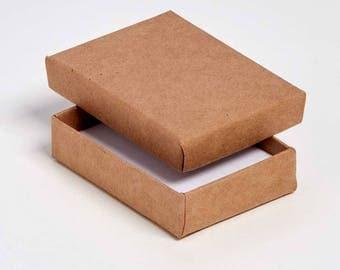 Postal Cardbord Jewellery/Universal Box 8x6x2