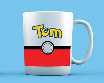 Pokemon Inspired Mug - Personalised