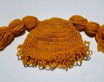 Golden/Yellow Cabbage Patch Hat