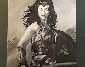 Wonder Woman Acrylic