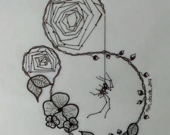 The Spider's Web (Tattoo Art)