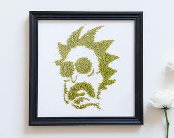 Rick - Cannabis Print Digital Download