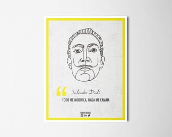 Ilustrattion-Influencers Salvador Dalí