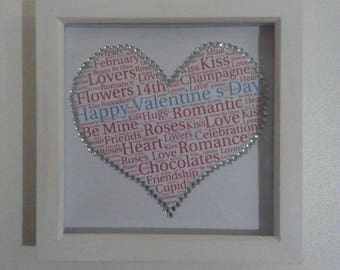 Valentine's Day Box Frame