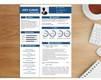 Resume Template I, Professional Resume Template, Creative Resume Template, Professional CV Template, Modern Resume Template.