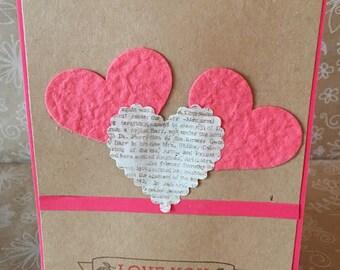 Heart Trio Card