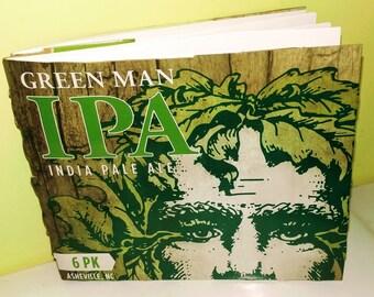 Green Man Sketchbook/Journal Beer Book