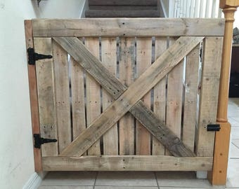 Pallet Wood Baby/Pet Gate