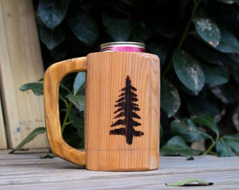 Wooden Mug Kozee - Pine Tree