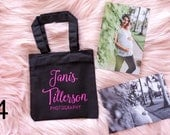 Personalized logo tote bags/ for photographers/ business owners/ sports teams/ school