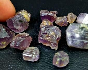 74.90 Unheated& Natural Purple Scapolite Rough Lot