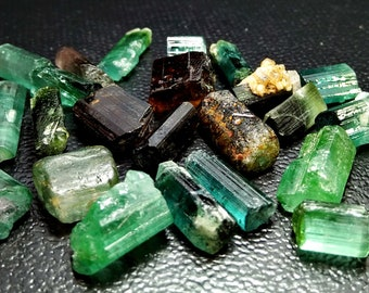 88.35 CT Unheated & Natural Multi Color Tourmaline Rough lot