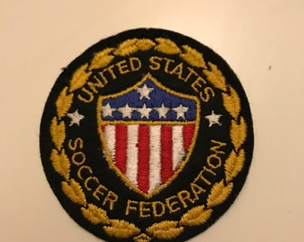 Vintage United States Soccer Federation Patch