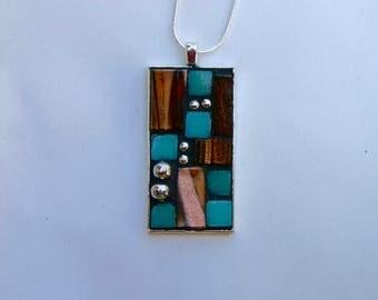 Lovely mosaic pendant