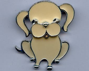 "Sarah Coventry ""Puppy Love"" Brooch-C.1973"