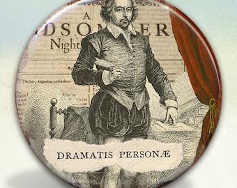 William Shakespeare Pocket Mirror tartx