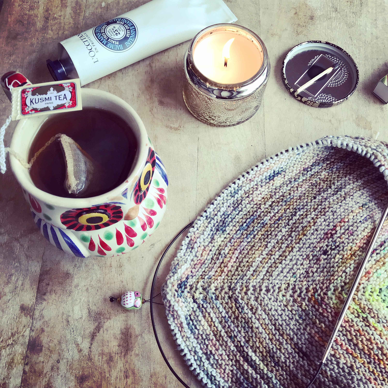 cosy knitting
