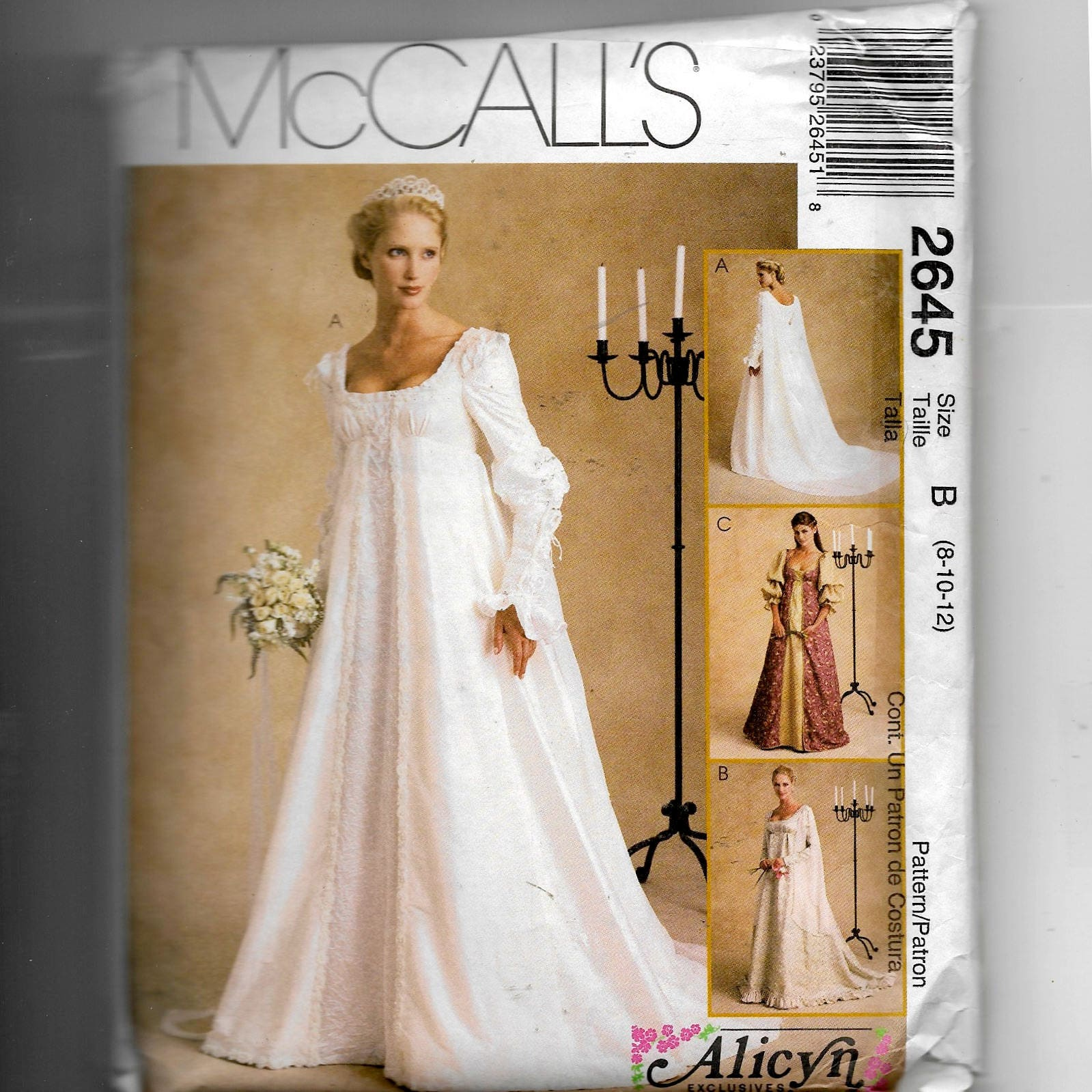 McCall\'s Misses Bridal Gowns Pattern 2645 from NewAgain on Etsy Studio