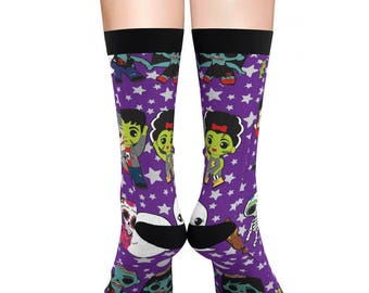 Monster Mash Sublimation Socks