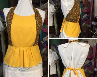 School Girl Ruffled Halter Top free size by CCQUILTER free shipping