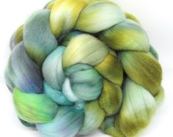 Merino Wool Hand Dyed Fine Combed Top 21 Micron 100gms - FM60