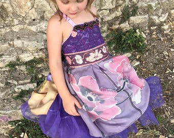 Rubypearl Girls' Violet Lace Dress
