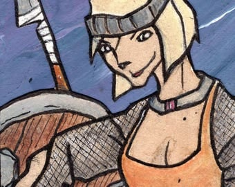"Storyblock- ""The Shield Maiden"""