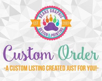 Custom Order for Theresa