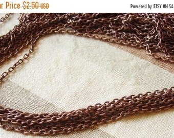20% Off Sale Iron Cross Chains, In Red Copper Color - 6  Feet