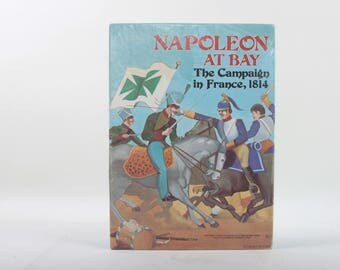 Napoleon At Bay, 1814 Campaign in France, Board Game, Vintage, Avalon Hill, Maps, Dice, Scenario, Military Strategy, Unpunched ~ 160908