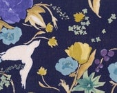 Nani Iro Kokka Japanese Fabric Fuccra : rakuen - Atami - 50cm