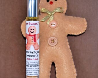 Gingerbread Cookies Perfume Oil Roll-On