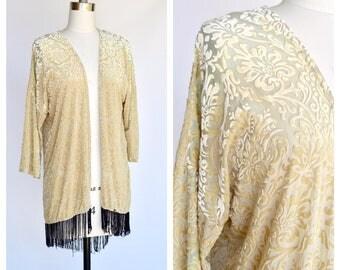 damask festival shawl / small to medium