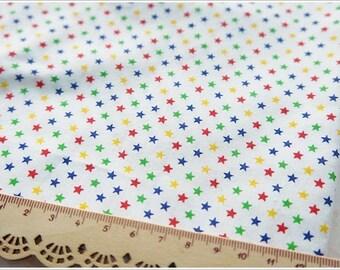Tiny Star Cotton Fabric Half Yard Doll Dress